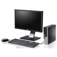 Лучший офисный комплект ПК: Системный блок DELL 7010 USFF i3-3240 (с динамиками) + Монитор Dell 2212 /Led + Full HD /Новая беспроводная клавиатура + мышь в комплекте.