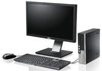 """Комплект мини компьютера Dell OptiPlex 790uSFF /i5-2400 (3.1 ГГц) / ОЗУ 4 / HDD 160, Со звуком. + монитор 23"""" DELL P2311Hb + ГАРАНТИЯ НА 9 МЕСЯЦЕВ!"""
