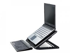 Подставка под ноутбук с охлаждением ERGO STAND с подсветкой