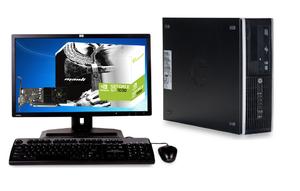 """Игровой Комплект компьютера HP Compaq 8300 ELITE sff на i5 -3470 и GeForce GT 1030 + монитор 24"""" HP Z2440 на ips  + мышь, клавиатура"""