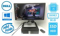 Аренда КОМПЛЕКТ ПК: Dell OptiPlex 5040 SFF на i5-6500 3.6Ггц /ОЗУ 8Гб / Новый SSD 120ГБ/ + Монитор DELL P2214HB. WIN 10! ПО в Подарок! Супер ЦЕНА!