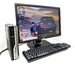 Комплект ПК: Mini Системный блок Acer veriton l670g корпус USFF / E7300 (3 ГГц) + Монитор 22Дюйма DELL 2213Hb