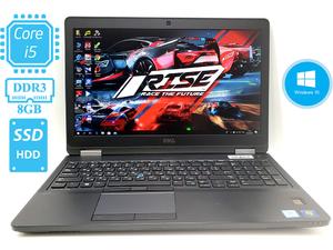 """Игровой ✔ ультрабук DELL Latitude E5570 на i5-6300U /☝Внешняя видео  до 4 Гб✅ /15,6"""" /IPS + Full-HD/ 4G /SSD/ АКБ больше 2ч/ Состояние Нового /  ☝ разные комплектации ⭐ОС и ПО в Подарок⭐"""