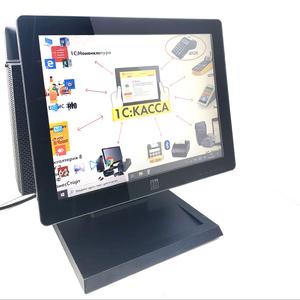 Кассовый Компьютер с Сенсорным монитором ELO  ЕТ1517L TOUCH ✔ Gorilla Glass DELL790uSFF