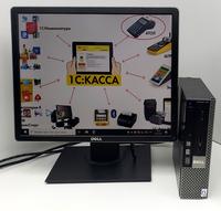 """Кассовое рабочее место c подключением для весов DELL 780  с Монитором DELL 19"""" IPS 3*4 ✅ ПО в Подарок✔"""