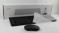Беспроводный комплект клавиатура и мышь wireless k06 с защитной пленкой