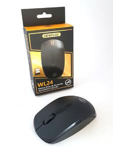 Беспроводная компьютерная оптическая мышка Zornwee WL24 Black  (Новая) в количестве