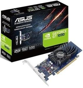 НОВАЯ!!! Низкопрофильная видеокарта Asus GeForce GT1030 2048Mb