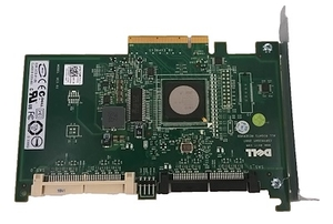 Плата Raid контроллера DELL T5500 : SAS 6i R PCI-E Raid Controller Card. Model: 0jw063