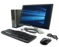 "Dell OptiPlex 9010 / i5-3570 (3.4 ГГц) / Ram 4 / HDD500 + монитор 19"" + клавиатура + мышь"