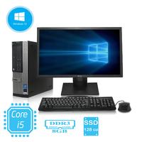 """Оптимальный комплект компьютера Dell 790 на i5 + монитор 22"""" + клавиатура + мышь"""