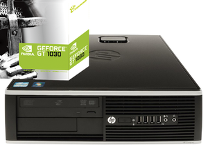 Игровой системный блок HP Compaq 8300 ELITE sff на i5 -3470 и GeForce GT 1030