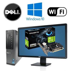 """Игровой комплект комптютера Dell 3010 на i3 и GeForce GT 710 + монитор Dell p2212hb 22"""" + клавиатура + мышь"""