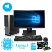 """Игровой комплект компьютера Dell 790 на i5 2400 и GeForce GT 710 + монитор DELL 22"""" . Со звуком."""