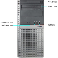 DELL optiplex 980 TOWER на Intel Core i3-550