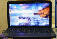 "Acer Aspire 5738Z / 15.6"" / Dual-Core T4300 2.1 ГГц / RAM 3 / HDD 160 /"