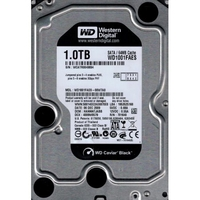 Жесткий диск Western Digital 1 Тб Black / 7200 об/мн.