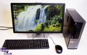 Компьютер с монитором Dell OptiPlex 9010 на i5-3570 ✅ Монитор Dell 2212 Full Hd + клавиатура + мышь