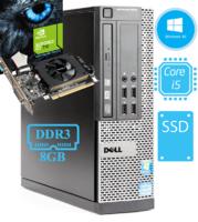 Игровой системный блок Dell 3010 на i3 - 3230 и GeForce GT 710
