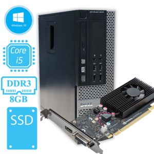 Игровой системный блок Dell OptiPlex 9010 / i5-3570 (3.4 ГГц) на GeForce GT1030