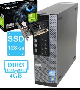 ИГРОВОЙ системный блок Dell 790 на i5 2400 и GeForce GT 710