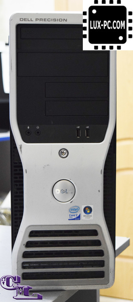 DELL PRECISION T3400 TOWER / Core 2 Quad Q8300 (2 5 ГГц) / RAM 4 / HHD 160  Hight Speed , 250 / nVidia Quadro FX1700 512mb