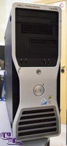 DELL PRECISION T3400 TOWER / Core 2 Extreme QX6800 (2.93 ГГц) / RAM 8 / HHD 160 Hight Speed , +250 / ATI Radeon 3450 512mb