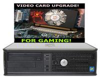 Бюджетный игровой Dell OptiPlex 780 / 4-Ядра Core 2 Quad Q8300  / RAM 4 / HDD 500 + НОВАЯ GT710 2048MB