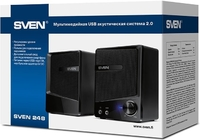 Акустические колонки для компьютера/ноутбука SVEN 248 производство финляндия Новые