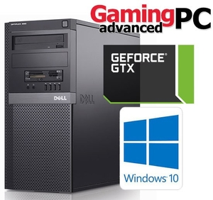 Игровой Dell OptiPlex 7010 / 4 Ядра 8 потоков i7-3770 (3.8 ГГц) / +⭐ Asus PCI-Ex GeForce GTX 1050 Tower