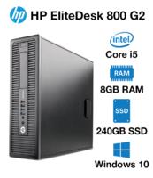 Современный системный блок HP EliteDesk 800 G2 на i5-6500 /Intel HD Graphics 530 на 1ГБ с поддержкой 4К