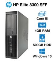4-x ядерный системный блок HP ELITE Compaq 8300 SFF / i5-3470s / RAM 4 / HDD 500 ГБ  USB 3.0