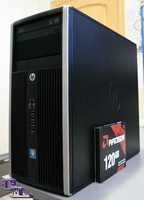 HP Compaq 6200 / i5-2400 (3.1-3.4 ГГц) / GeForce GT 1030 2GB / RAM 8 / SSD 120 GB / HDD250 GB