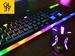 Комплект клавиатура + мышь с подсветкой UKC-555