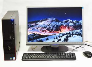 """Fujitsu ESPRIMO E710 E90+ / Pentium G2020 2.9GHz / USB 3.0 + монитор 22"""" + клавиатура + мышь"""
