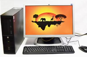 "Комплект компьютера HP Compaq 8300 ELITE на i5-2400 монитор 20"" HP 2045 + мышь, клавиатура"