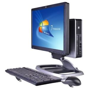 "Комплект компьютера HP Elite 8000 Usff E7500 + монитор 20"" + клавиатура + мышь"
