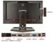 """Профессиональный монитор ДИЗАЙНЕРУ Hp ZR2440w / 24"""" / LED+ IPS / Full HD / HDMi"""