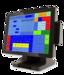 """Сенсорный POS CHD 8700 15"""" Gorilla Glass LED мультитач без ограничейний  ( два экрана )"""